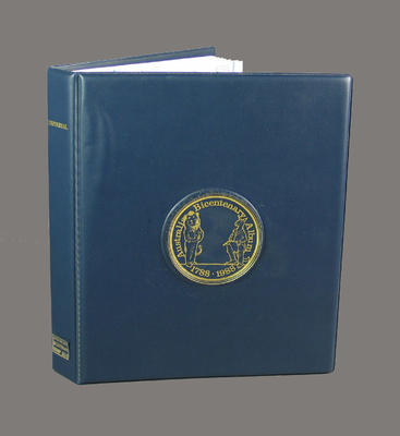 Binder, Australian Bicentenary stamp issue album