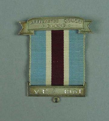 Ribbon, VRA Affiliated Clubs Clasp 1931