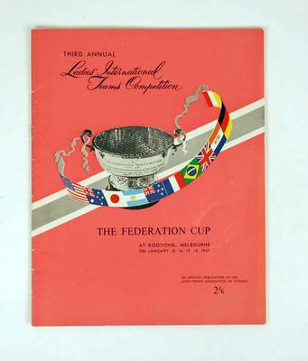 Programme, 1965 Federation Cup