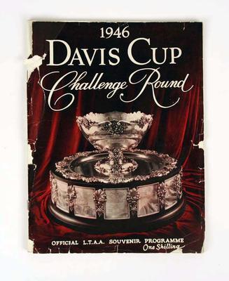 Programme, 1946 Davis Cup Challenge Round
