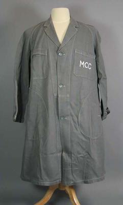 Worker's overcoat, Melbourne Cricket Club