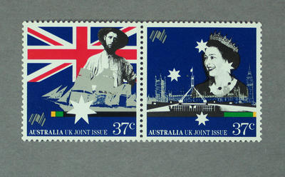 Postage stamps, Australian Bicentenary issue
