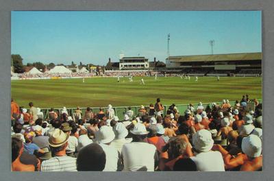 Postcard, Famous Test Match Grounds - Headingley