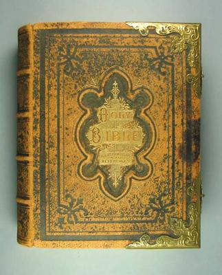 Donald Mackintosh Family Bible, presented 5 Oct 1899