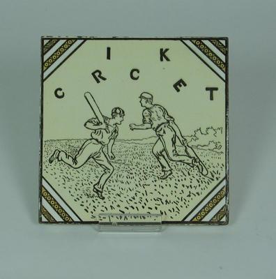 "Tile, ""Cricket"""