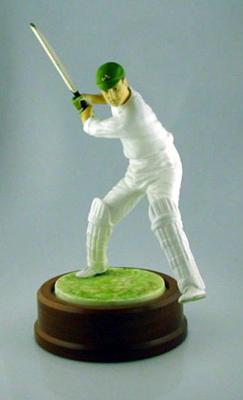 Ceramic figurine of Victor Trumper
