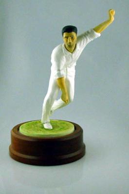 Ceramic figurine of Keith Miller