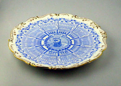 Commemorative plate, W G Grace Century of Centuries