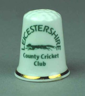 Thimble, Leicestershire County Cricket Club