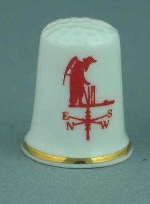 Thimble, Lord's Cricket Ground weathervane