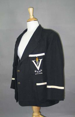 Blazer, Victorian Women's Amateur Athletic Association c1955; Clothing or accessories; 1992.2699.1