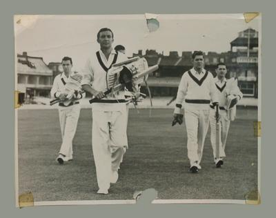 Photograph, Richie Benaud & team mates 1961