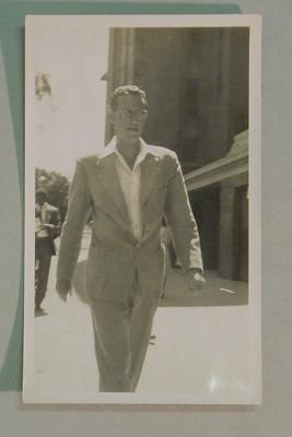 Black and white  photograph of West Indian cricketer Roy Marshall.