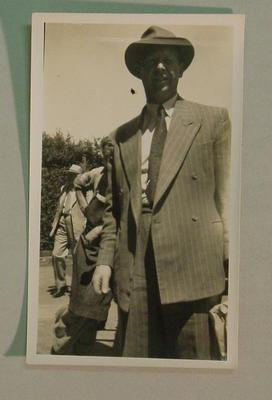 Black and white photograph of Australian  Cricketer Douglas Ring.