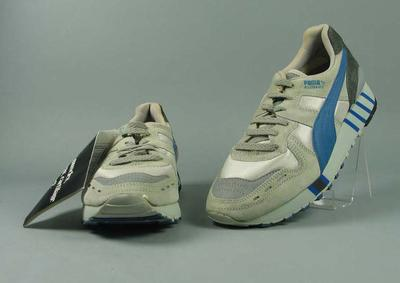 Pair of Puma running shoes