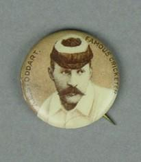 Badge with image of Andrew Stoddart, c1897; Trophies and awards; M2918.8