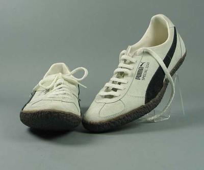 """Pair of Puma """"Special 2246"""" hammer-throwing shoes"""