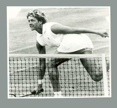 Photograph of Margaret Court, c1960s