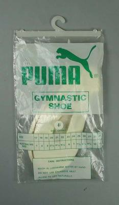 Pair of Puma gymnastics shoes