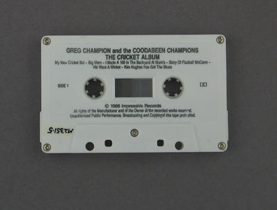 "Audio cassette,""The Double White Album"""