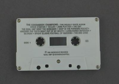 """Audio cassette, """"The Cricket Album"""""""