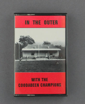"""Audio cassette jacket, """"In the Outer"""""""