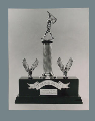 Photograph of J E M Ellis Trophy, 1971