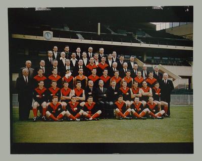 Photograph of Melbourne FC team, c1957