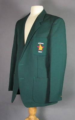 Zimbabwe cricket team blazer, worn by Alistair Campbell