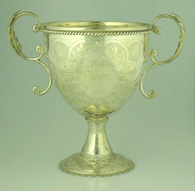 Cup, presented to J Thomson by Melbourne Cricket Club - 1891