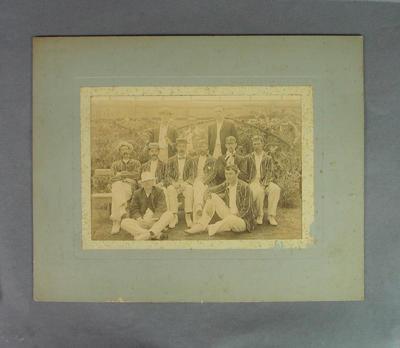 Photograph depicting a Melbourne Cricket Club cricket team, c1910s-20s