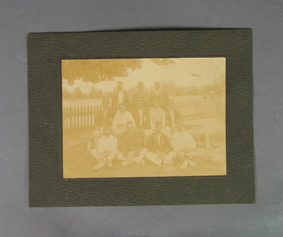 Photograph of Melbourne Cricket Club team, c1910s-20s; Photography; M8668