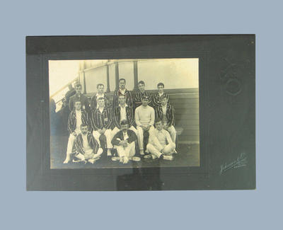 Photograph of Melbourne Cricket Club team, c1910s-20s; Photography; M8669
