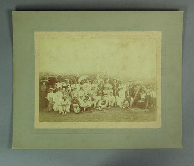 Photograph of Melbourne Cricket Club team group, c1910s-20s; Photography; M8670