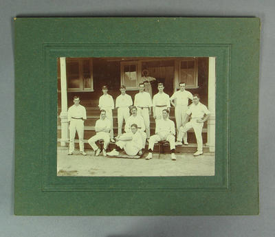 Photograph of Melbourne Cricket Club team, c1910s-20s; Photography; M8673