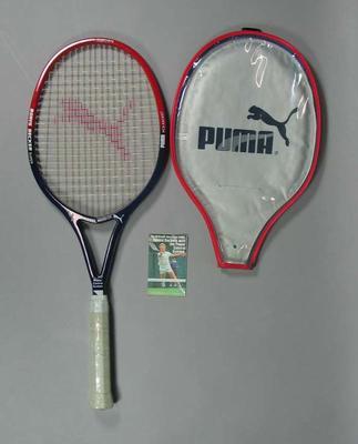 """Puma """"Boris Becker"""" tennis racquet"""