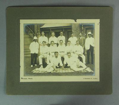 Photograph of Melbourne Cricket Club team, c1910s-20s