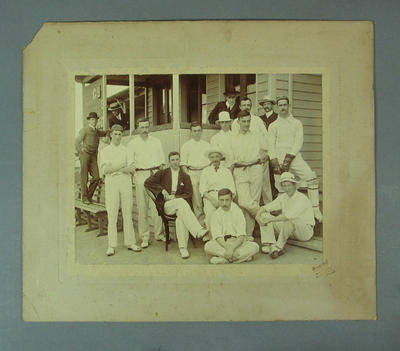 Photograph of Melbourne Cricket Club team, c1910s-20s; Photography; M8680