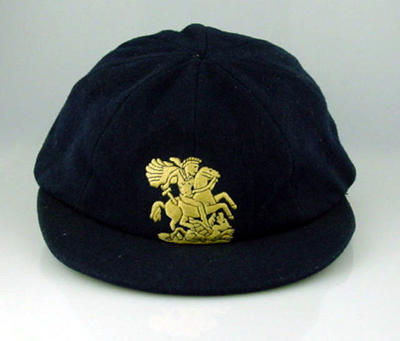 Cricket cap, worn by Freddie Brown c1951-52; Clothing or accessories; M8691
