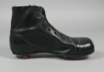 One of a pair of child's cricket boots