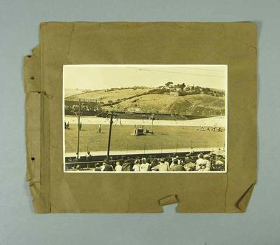 Photograph - View from spectators stand Exhibition Track, North Essendon