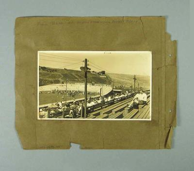 Photograph - Exhibition Board Track, North Essendon - cycling