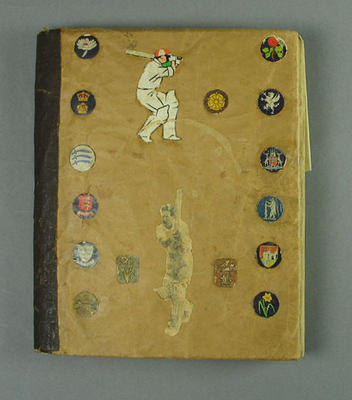 Scrapbook, relating to English county cricket c1945-50