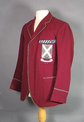 Scotch College athletics blazer, c1920-30s