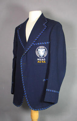 Melbourne University athletics blazer, c1920-30s