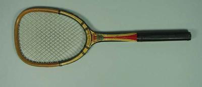 Tennis racquet, c1920s