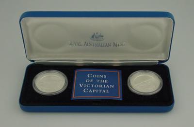 Australian ten dollar coin, featuring image of Melbourne Cricket Ground