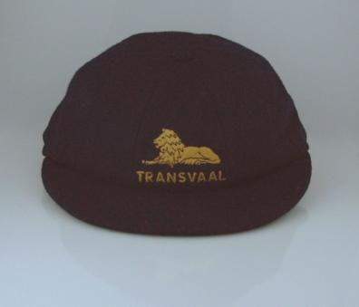 Transvaal cricket cap which belonged to Colin McDonald