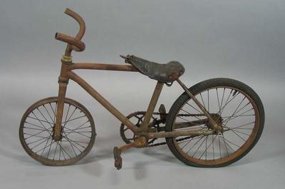Small child's bike made by Jack Campbell senior for Jack Campbell junior, c.1912