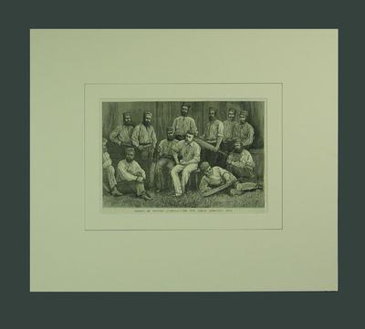 "Print, ""Cricket In Western Australia - The New Norcia Aboriginal Team"""